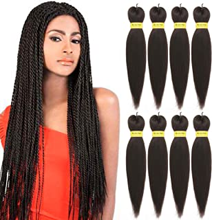 Hair Braids Professional Pre-stretched 100% Kanekalon Ez Braid Beyond Beauty Perm Yaki Texture Itch Free Low Temperature Fiber