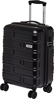 American Tourister Bricklane Hard Cabin Luggage trolley bag, Jet black, 55cm Spinner