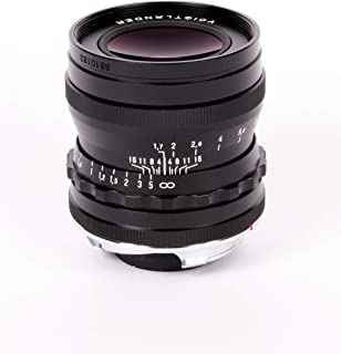 Voigtlander 35mm f/1.7 Ultron Black Aspherical Leica M Mount