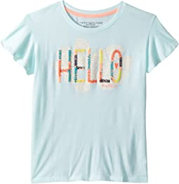 Tommy Hilfiger Kids Tommy Flutter Tee (Big Kids)