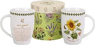 Pimpernel Botanic Garden Zodiac 12.6 oz Mug - Leo, Sunflower