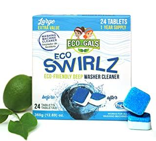 Eco-Gals Eco Swirlz Washing Machine Cleaner, 24 Count