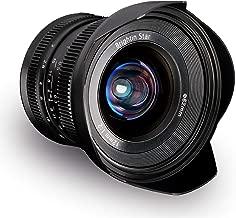 Brightin Star 12mm F2.0 APS-C Large Aperture Manual Focus Lens for Canon EF-M Mount Mirrorless Cameras M M2 M3 M5 M6 M10 M100 M50