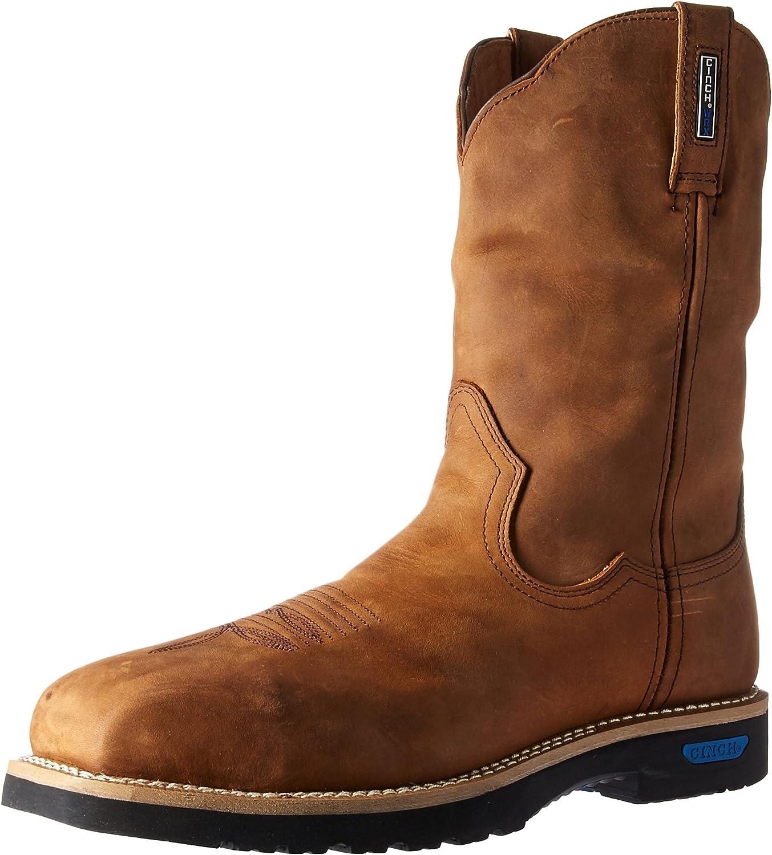 Cinch Men's WRX Master Slip Resistant Work Boot