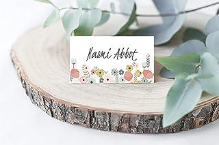 Segnaposto matrimonio personalizzato sposi Segnaposti Battesimo o Compleanno Cartellini cartoncino Tavolo
