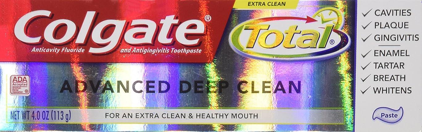 消費受け入れやがてColgate 総高度なフッ化物の歯磨き粉、ディープクリーン4オンス