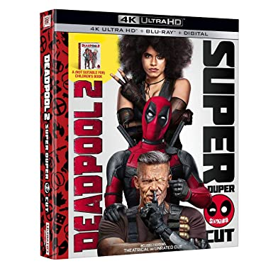 "Deadpool 2 Limited Edition (4K Ultra HD+Blu-Ray+Digital) including Exclusive ""A (Not Suitable for) Children's Book"""