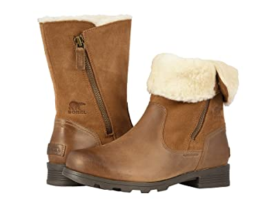 SOREL Emelietm Fold-Over (Camel Brown) Women