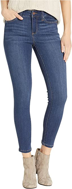 Petite Abby Ankle  in Silky Soft Stretch Denim in Elysian Dark