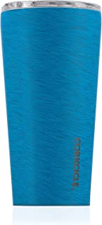 Corkcicle Tumbler Collection-Triple Insulated Stainless Steel Travel Mug, Heathered Navy, 16 oz
