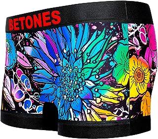 BETONES (ビトーンズ) レディース ボクサーパンツ ANEMONE CORONARIA ヒョウ柄 dwearsステッカー入り ローライズ 女性 ショーツ 下着 誕生日 プレゼント