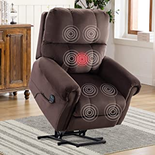 CANMOV Power Massage Lift Recliner Chair with Heat & Vibration for Elderly, Heavy..