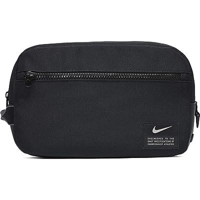 Nike Utility Training Shoe Tote (Black/Black/Enigma Stone) Tote Handbags