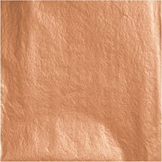 Jillson Roberts 6-Roll Count All-Occasion Matte Finish Gift Wrap Available in 22 Solid Colors, Copper Metallic