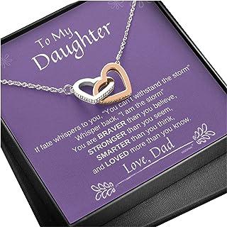 KINDPAW به گردنبند قلب دخترم از پدر
