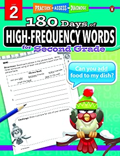 180 Days of High-Frequency Words Series for Second Grade
