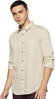 Indian Terrain Men's Printed Regular Fit Casual Shirt