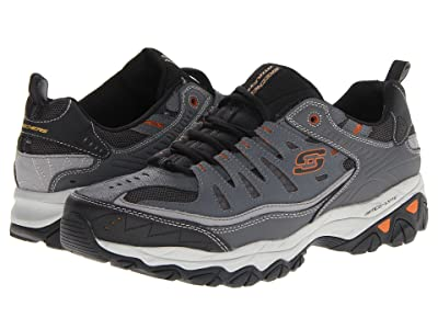 SKECHERS Afterburn M. Fit (Charcoal) Men