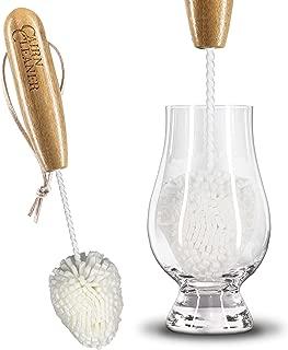 CairnCleaner Whiskey Tasting Glass Brush - Also for wine glasses and champagne flutes