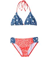 Billabong Kids - Bandana Rama Triangle Set (Little Kids/Big Kids)