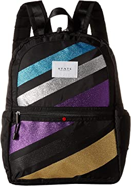 Glitter Stripe Kane Backpack