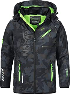 Geographical Norway Rainman Turbo-Dry - Giacca softshell con cappuccio, da uomo