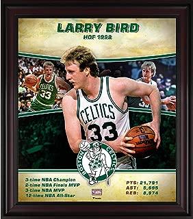 Larry Bird Boston Celtics Framed 15