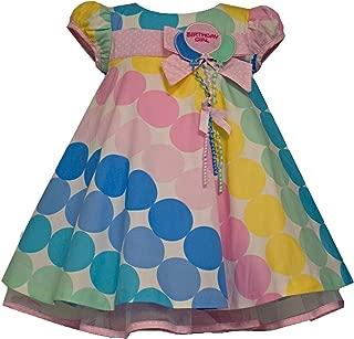 Bonnie Baby Girls Birthday Girl Dress Multi Color