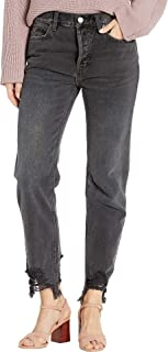 Women's Chewed Up Mid-Rise Straight Jeans