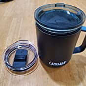 Tri-Mode Lid Insulated Stainless Steel Horizon 12 oz Camp Mug