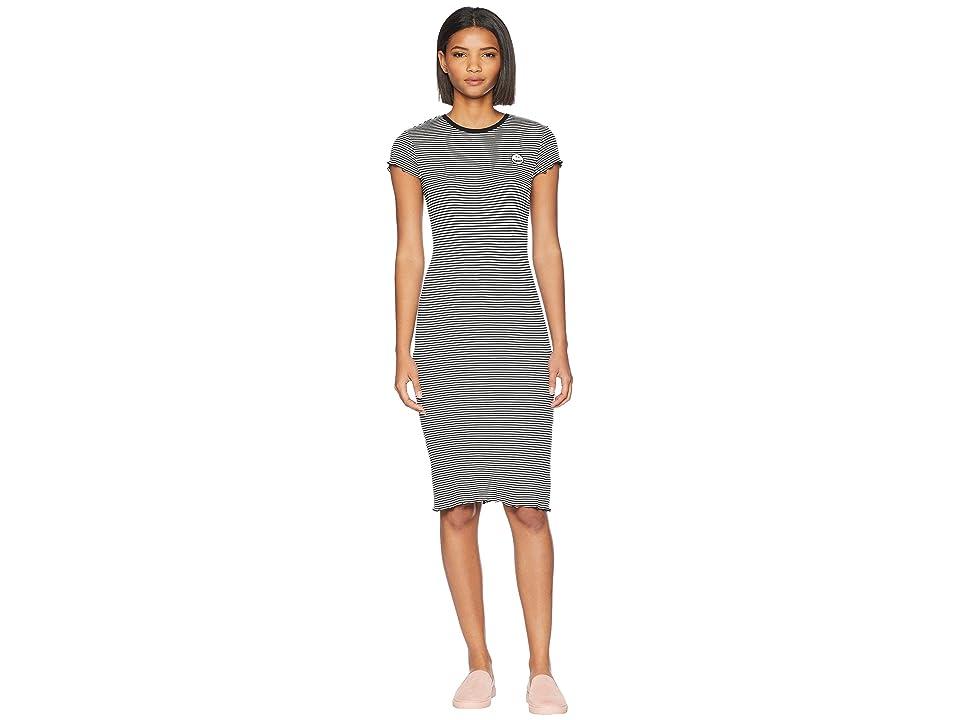 Volcom Colder Shoulder Dress (Black Combo) Women
