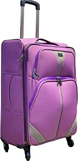 Excellent India Luggage Bag   66cms : 26 Inches   Polyester Casing: Soft Suitcase   Very Affordable   Trolley Bag  Big Eno...