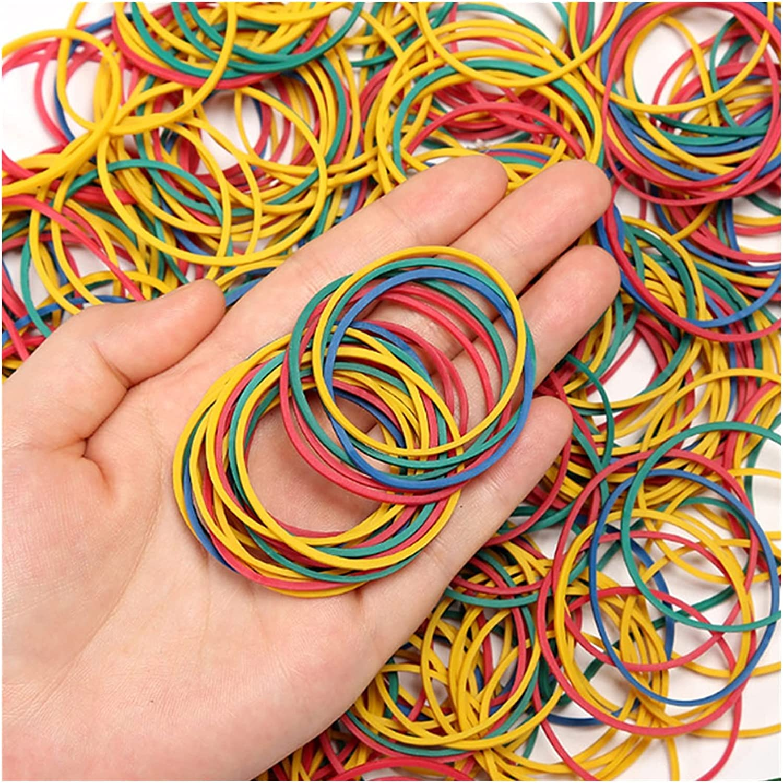 LDDJ Elastic Band 15~50mm Colorful Rubber mart for Max 78% OFF Bands Offi