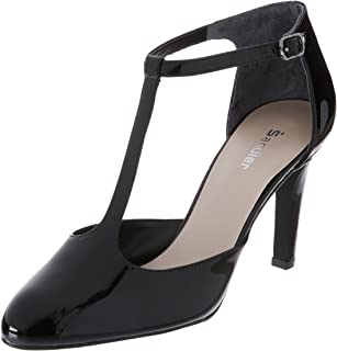 Sandler Babylon Women Shoes, Black Patent