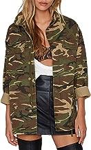 HAOYIHUI Women's Lightweight Long Sleeve Military Jacket Coat
