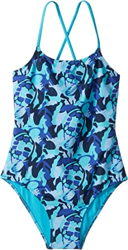 Vilebrequin Kids - Camouflage Turtles One-Piece Swimsuit (Toddler/Little Kids/Big Kids)