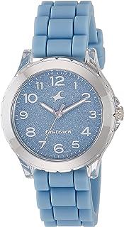 Fastrack Trendies Analog Blue Dial Women's Watch-68009PP02