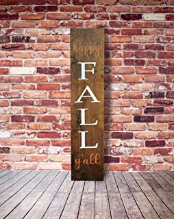 Reversible Wood Porch Sign Wooden Porch Decor Fall Porch Decor Rustic Wooden Sign Harvest Wood Sign Fall Winter 5.524 inches