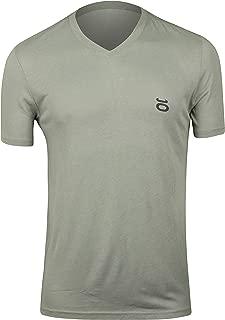 Jaco Mens Tenacity Performance V-Neck T-Shirt -Nubious Gray - Small