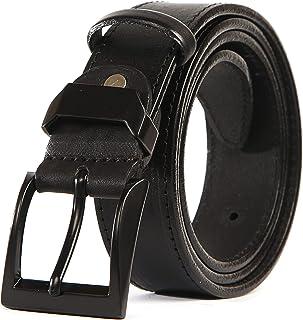 BBBelts Men 1-1//2 100/% Oil-Tanned Leather Studded Black Snap On Buckle Belt