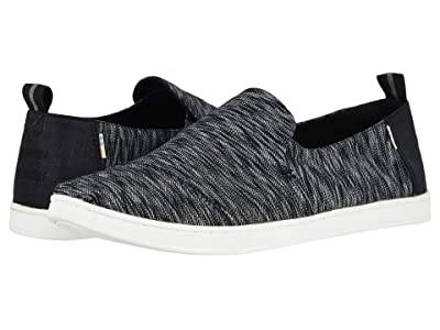 TOMS Deconstructed Alpargata Rope (Black/White Noise Jersey) Men