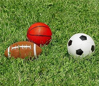 Poolmaster Waterproof Sport Game Balls (Football, Basketball, Soccer Ball) for Kids (Pack of 3) 72731