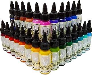 VIKING INK Inkt KIT 26 ud COLORS voor tatoeage 30ml
