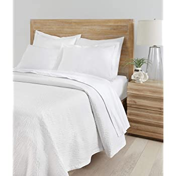Standard Textile Textured Coverlet (Cumulus Top Cover) (King)