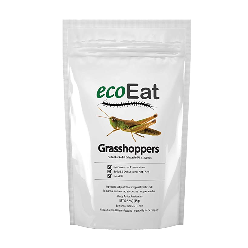 ecoEat Big Edible Grasshoppers - Edible Insects - 15g