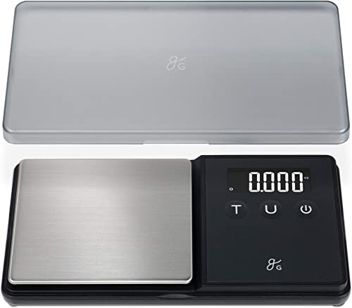 GreaterGoods Digital Pocket Scale, Lab Analytical Scale, Gram Scale, Ounce Scale, Letter Scale, 750g X .1g Accuracy