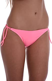 TIARA GALIANO Sexy Women's Bikini Bottom Tanga Thin tie Side - Made in EU Lady Swimwear 101