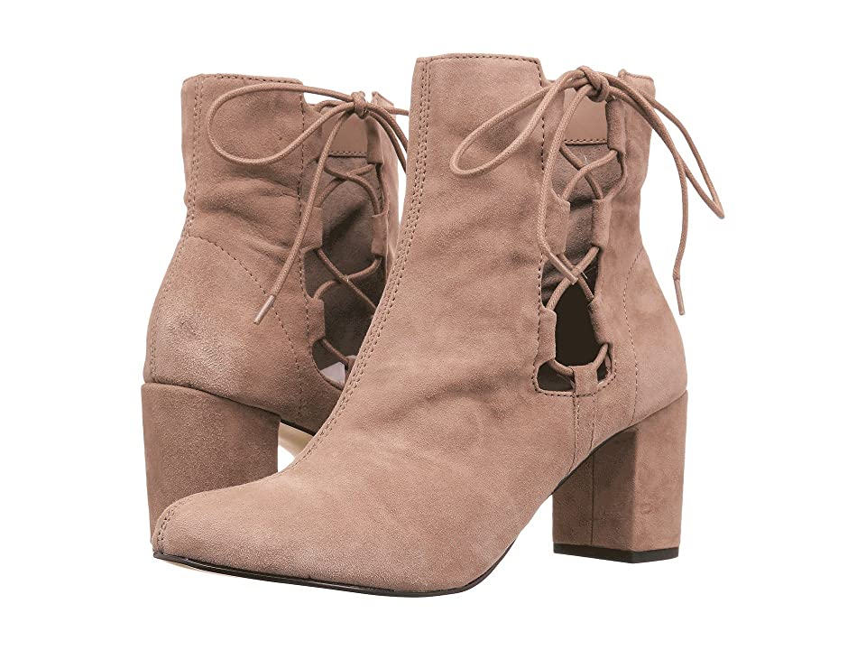 Bella-Vita Kirby (Almond Kid Suede Leather) Women's Lace-up Boots