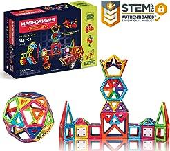 Magformers Smart Set (144-piece ), Deluxe Building Set. Magnetic Building Blocks, Educational Magnetic Tiles, Magnetic Building STEM Toy Set