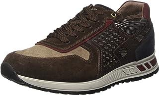 Nero Giardini A705341U Sneakers Uomo in Pelle, Camoscio E Tela